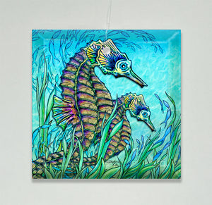 Seahorses Ornament/Suncatcher