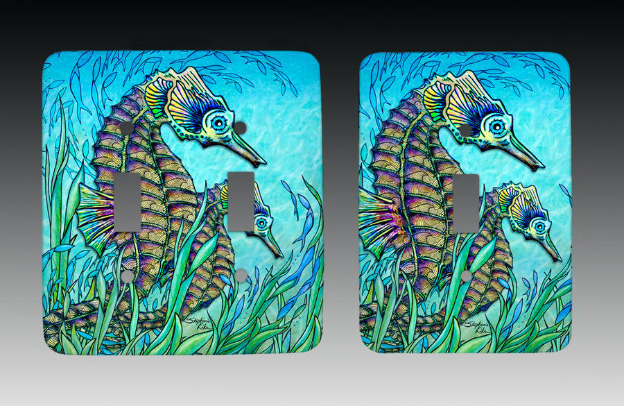 Seahorses Light Switch Cover