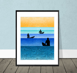 Serenity Giclee Print