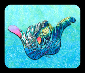 Shaka Wave Mousepad