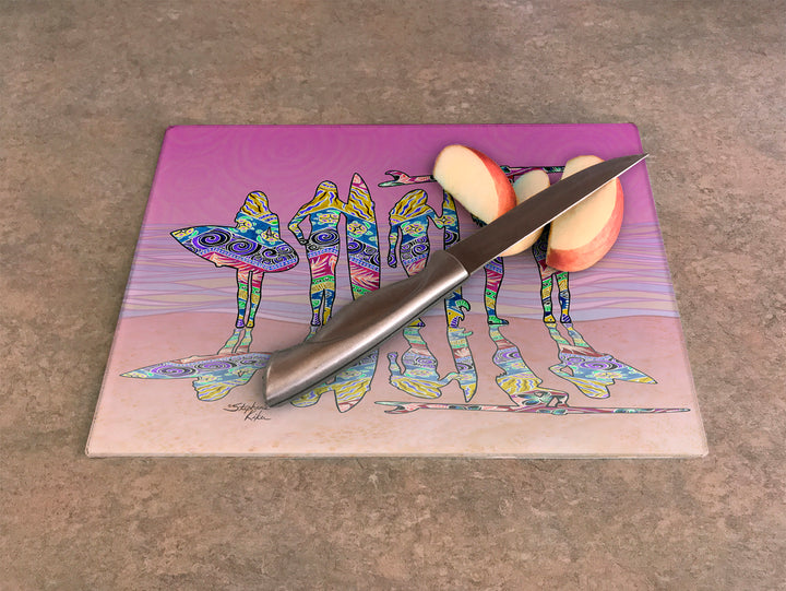 Surf Sisters Cutting Board