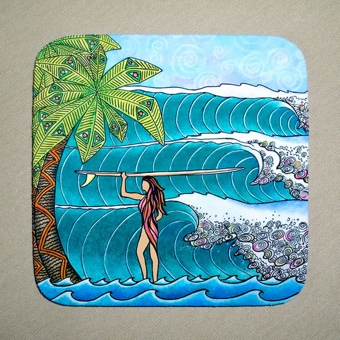 Surfer Girl Coaster