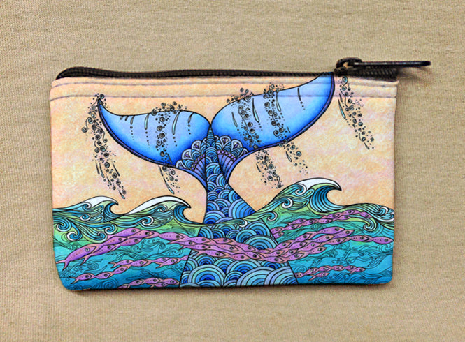 Tails of the Sea Coin Bag