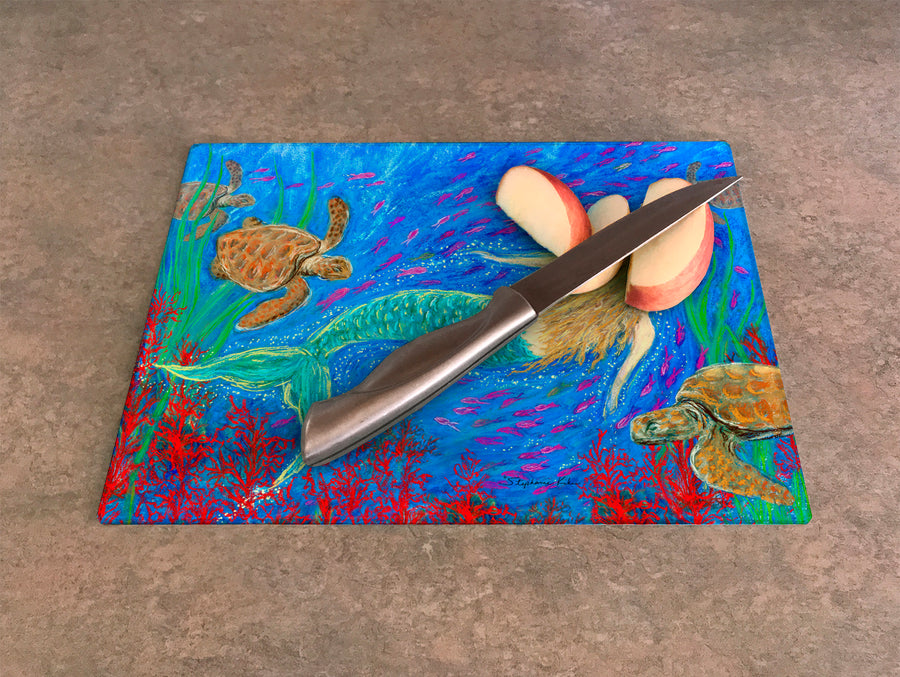 The Mermaid Dance Cutting Board