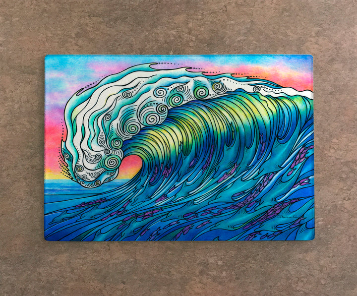 The Wave Cutting Board