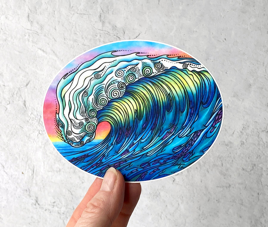 The Wave Sticker