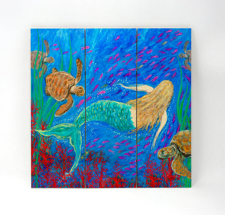 The Mermaid Dance Wall Art