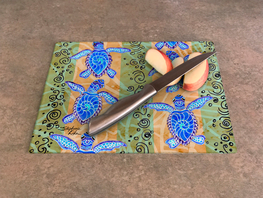 Traveling Turtles Cutting Board