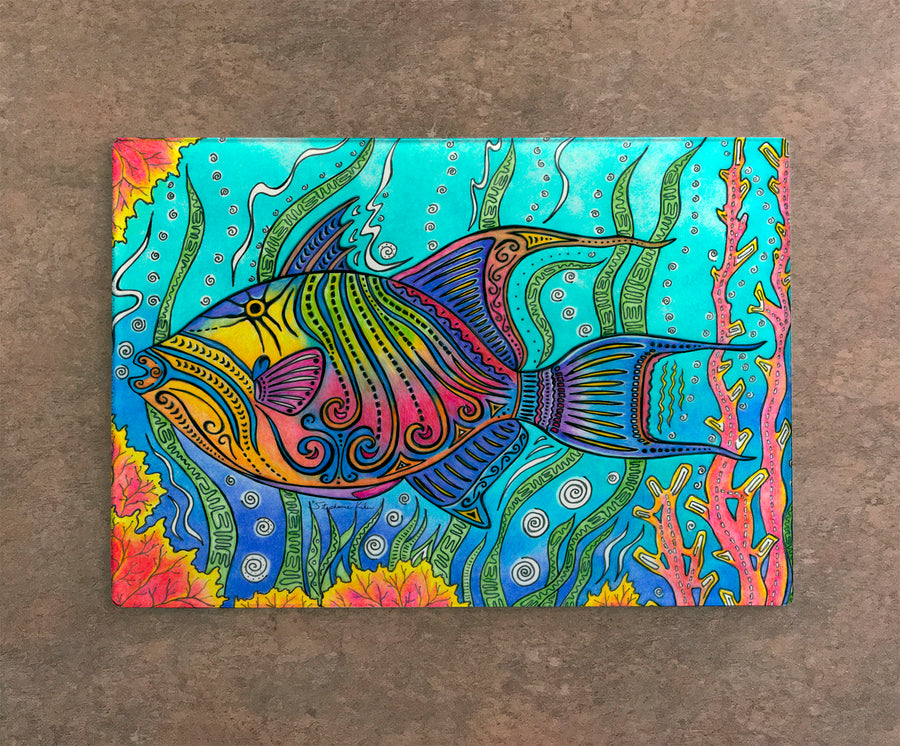 Triggerfish Cutting Board