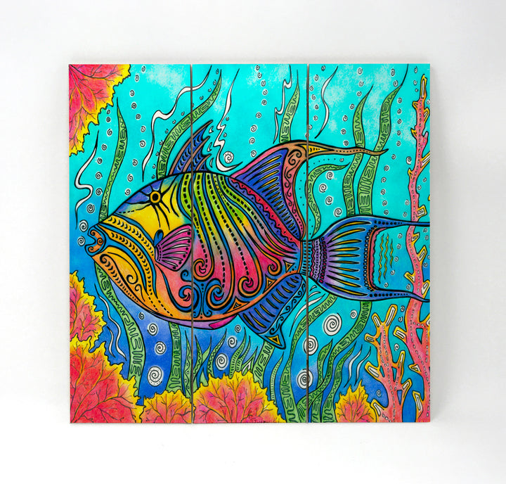 Trigger Fish Wall Art