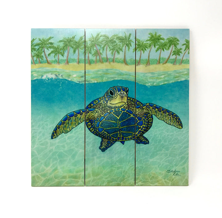 Turtle Paradise Wall Art
