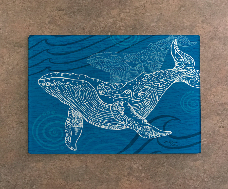 Whale One Color Cutting Board
