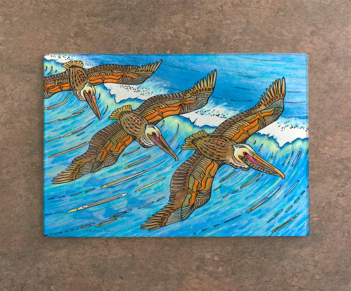 Wings over Waves Cutting Board