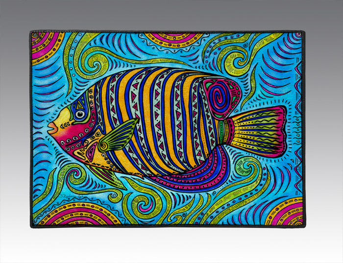 Angelfish Door Mat