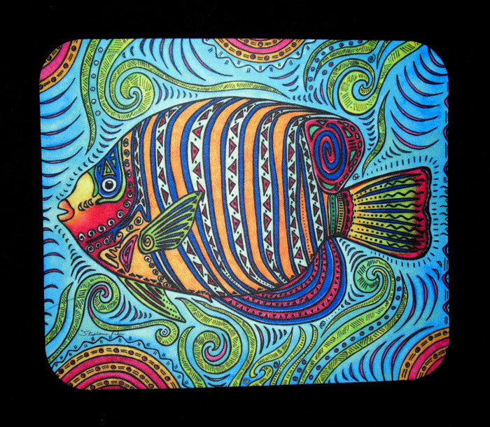Angel Fish Mousepad
