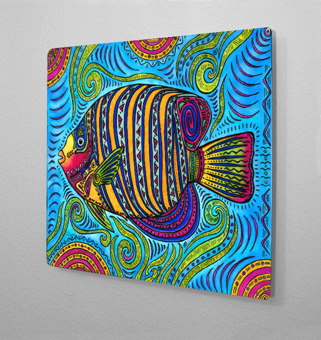 Angelfish Aluminum Wall Art