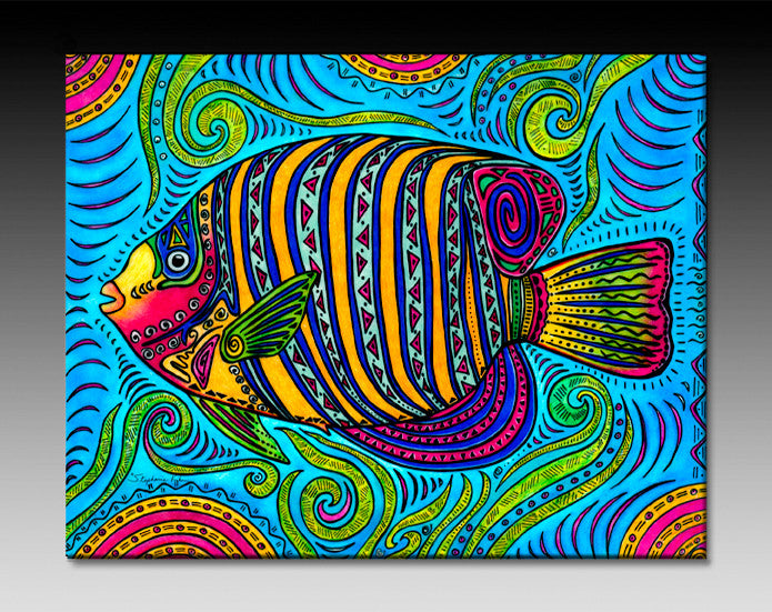 Angelfish Ceramic Tile