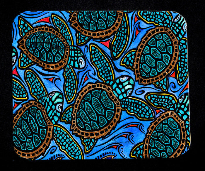 Baby Turtles Mousepad