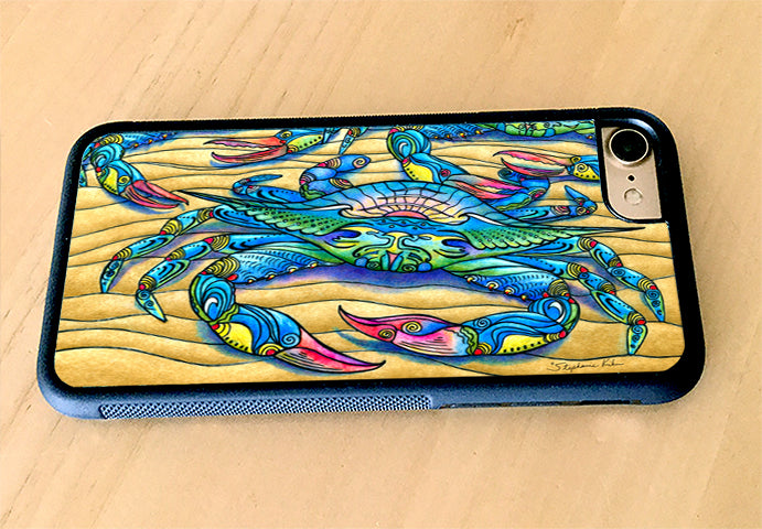 Blue Crabs iPhone Case