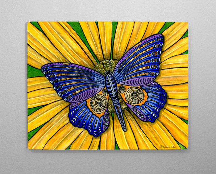 Butterfly Aluminum Wall Art