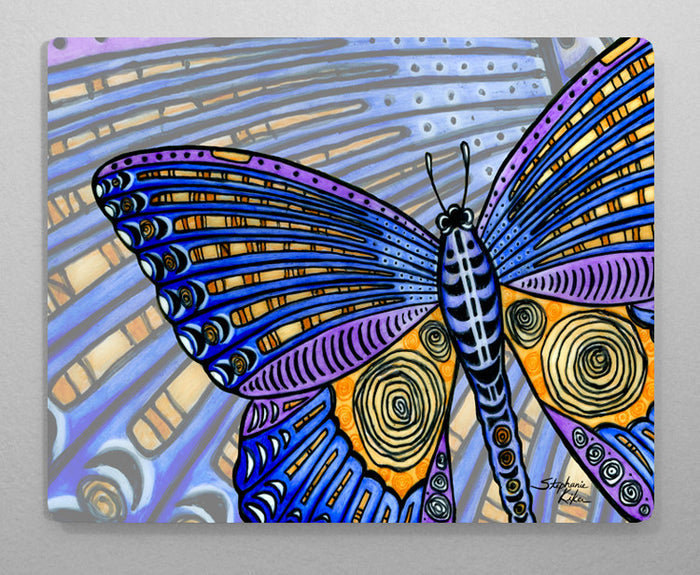 Butterfly Wings Aluminum Wall Art