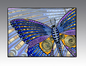 Butterfly Wings Door Mat
