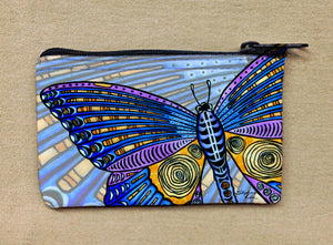 Butterfly Wings Coin Bag