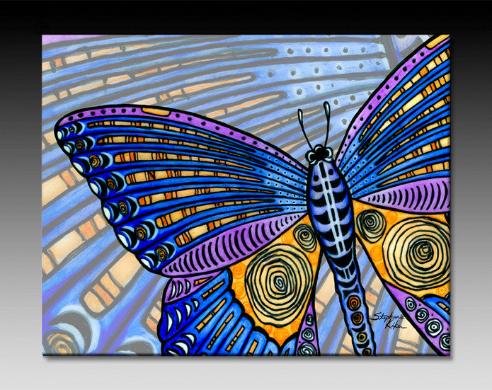 Butterfly Wings Ceramic Tile