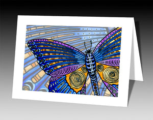 Butterfly Wings Notecard