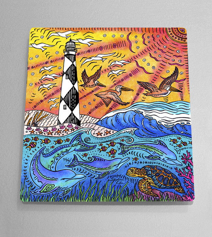 Cape Lookout Aluminum Wall Art
