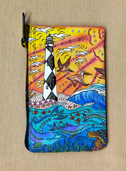 Cape Lookout Coin Bag