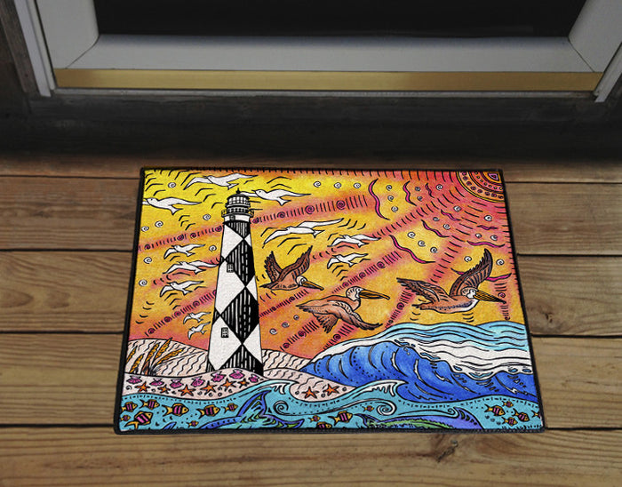 Cape Lookout Door Mat
