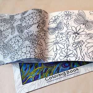 The Beach and Beyond Coloring Book