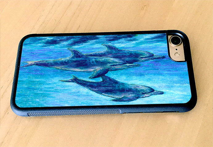 Dolphin Cruise iPhone Case