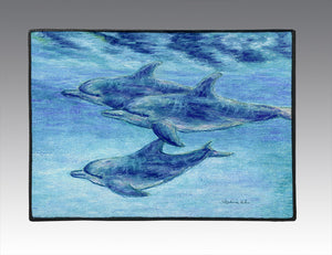 Dolphin Cruise Door Mat