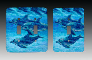 Dolphin Cruise Light Switch Cover
