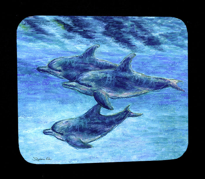 Dolphin Cruise Mousepad