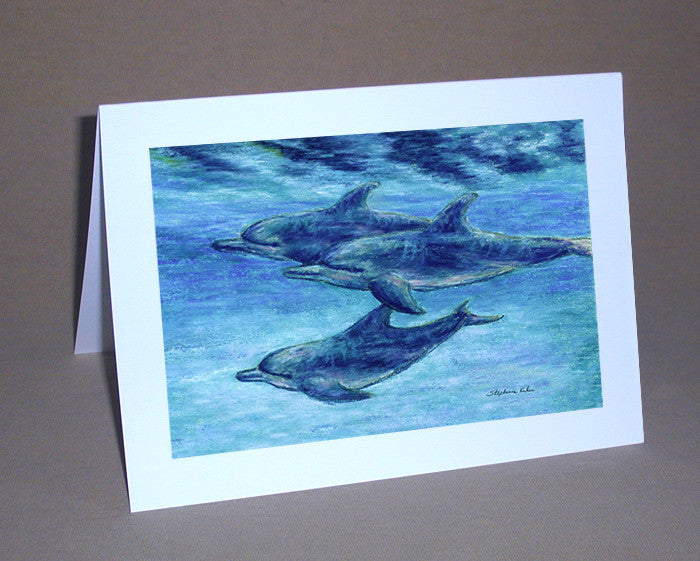 Dolphin Cruise Notecard