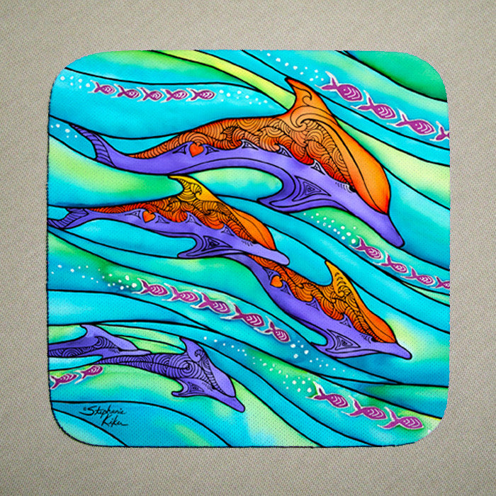 Dolphin Love Coaster