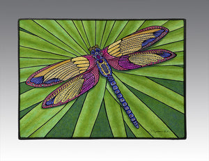 Dragonfly Door Mat