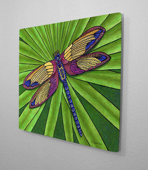 Dragonfly Aluminum Wall Art