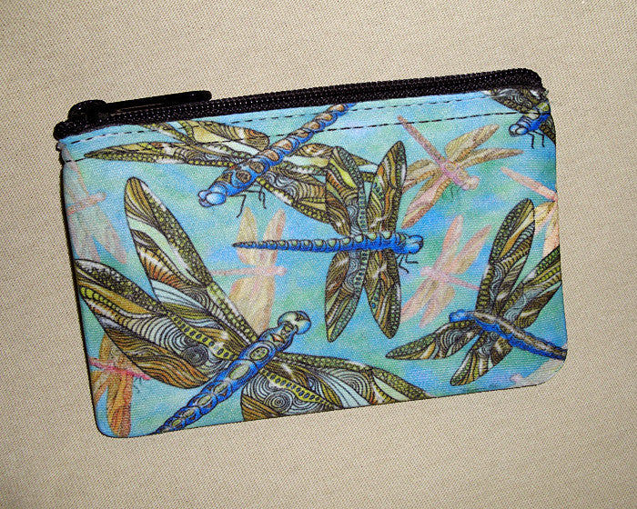 Dragonfly Gathering Coin Bag