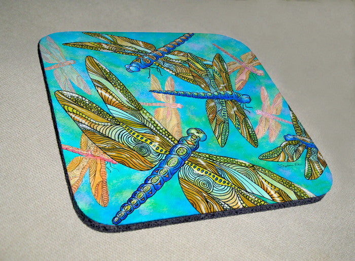 Dragonfly Gathering Coaster