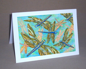 Dragonfly Gathering Notecard