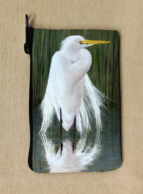 Egret Coin Bag