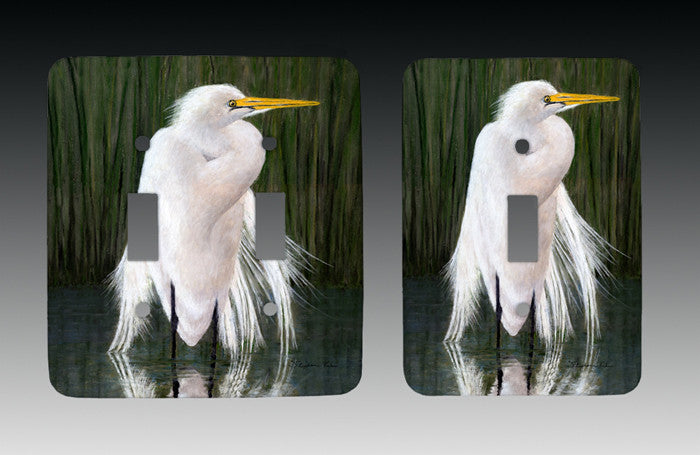 Egret Light Switch Cover