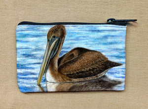 Harbor Pelican Coin Bag