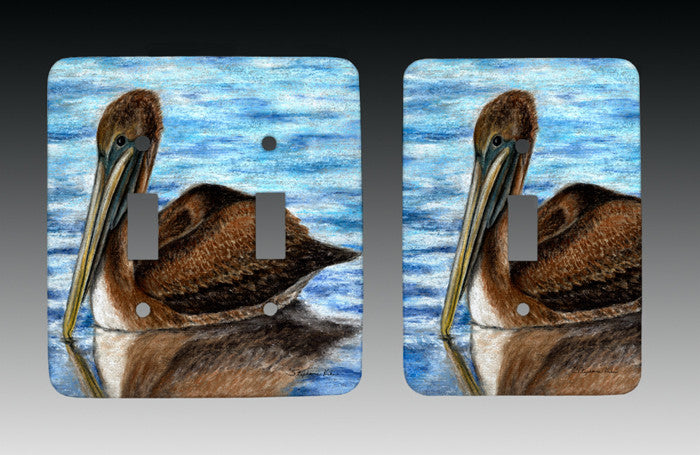 Harbor Pelican Light Switch Cover