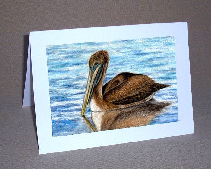 Harbor Pelican Notecard