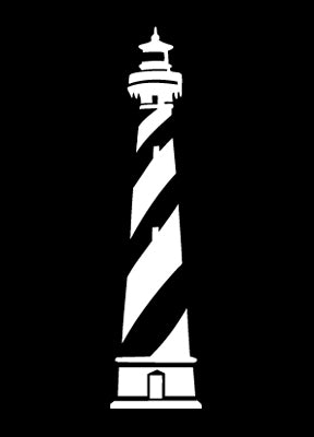 Hatteras Lighthouse Sticker